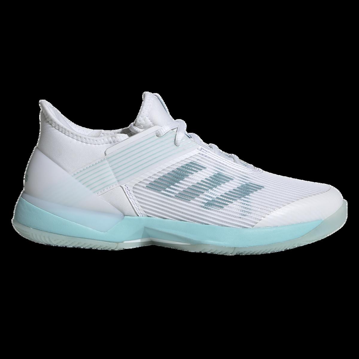 f5842f2e96 adizero Ubersonic 3 x Parley Women's Tennis Shoe - White/Blue