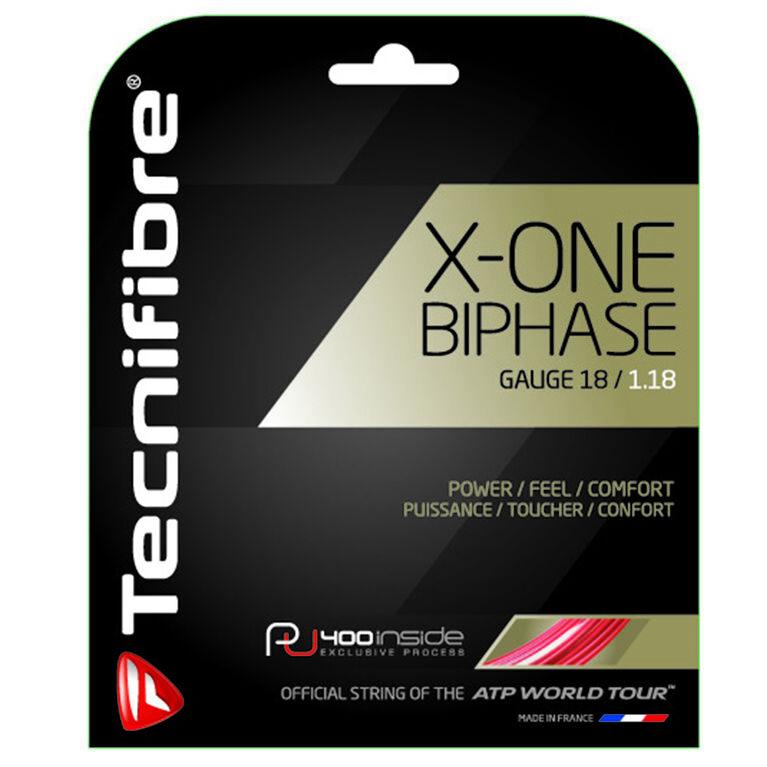 Tecnifibre X-One Biphase 18 Gauge String Set - Natural