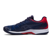 Alternate View 1 of Solution Speed FF Men's Tennis Shoes - Navy/Red