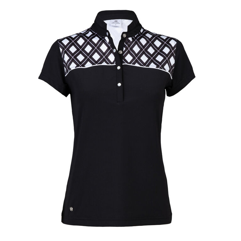 Blush Group: Brie Black Polo