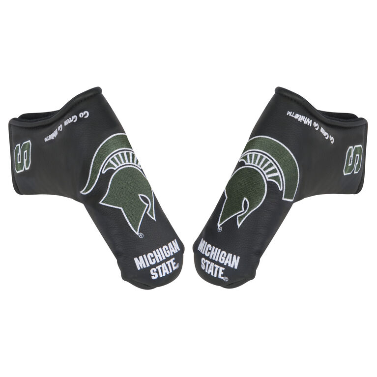 Team Effort Michigan State Black Putter Cover