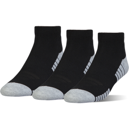 Under Armour Heatgear Tech Lo-Cut Socks - 3 Pack