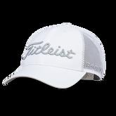 Tour Performance Mesh White Hat