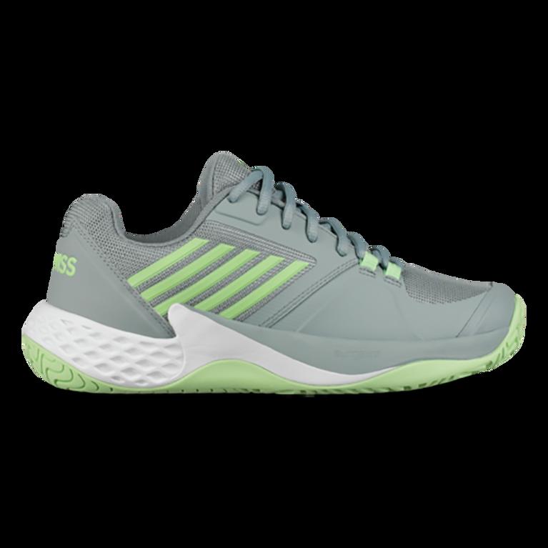Aero Court Women's Tennis Shoe - White/Green