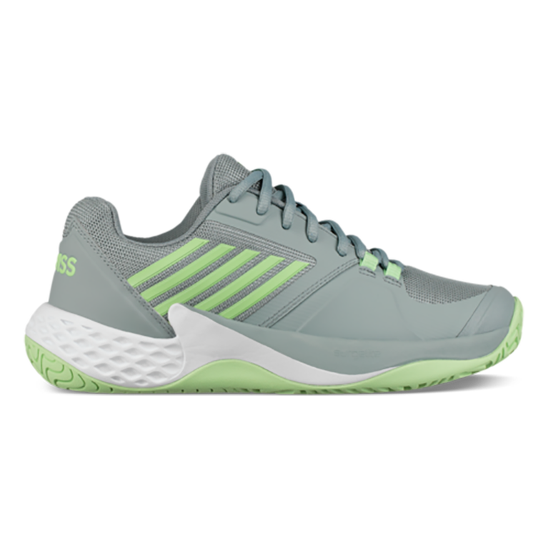 Aero Court Women's Tennis Shoe - White/Green