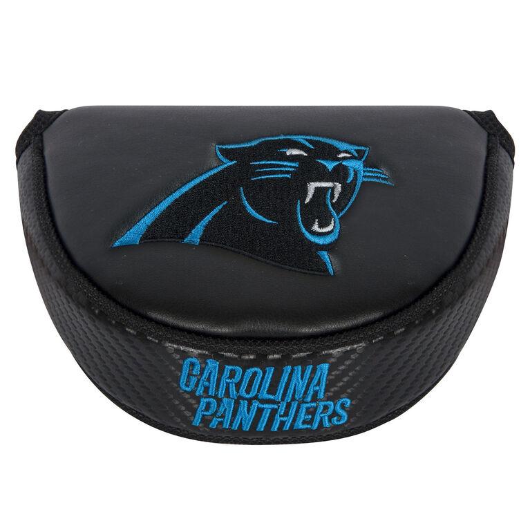Team Effort Carolina Panthers Black Mallet Putter Cover
