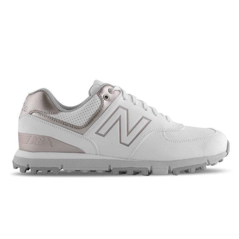 574 SL Women's Golf Shoe - White/Pink