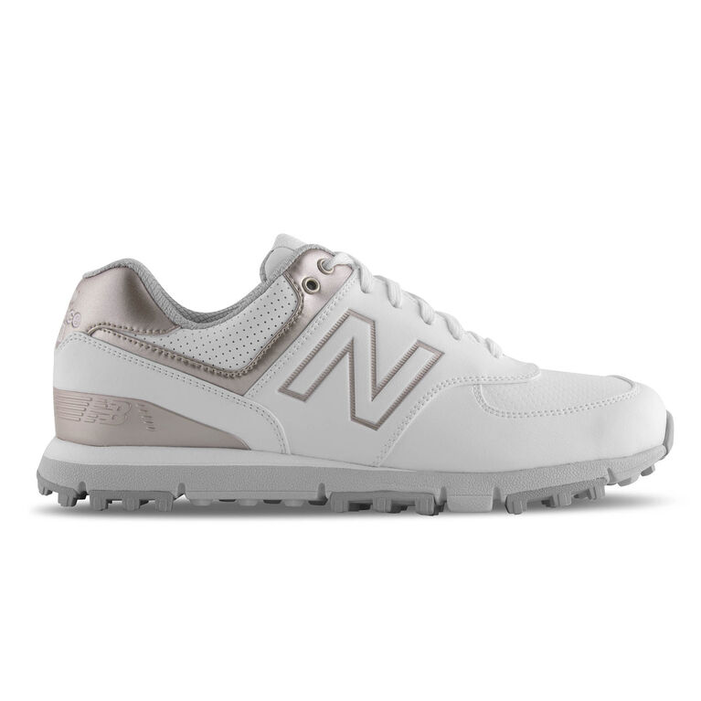 574 SL Women's Golf Shoe - White/Pink