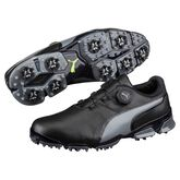 PUMA TITANTOUR Ignite Disc Men's Golf Shoe - Black/Grey
