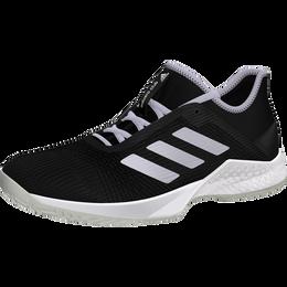 Adizero Club Women's Tennis Shoe - Black/Purple Tint/White
