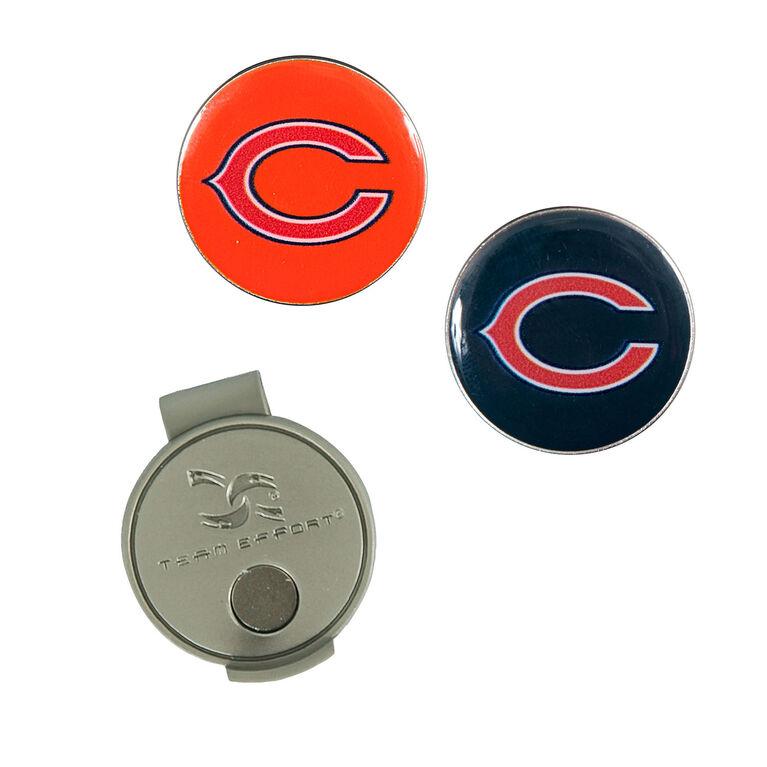 Team Effort Chicago Bears Hat Clip & Ball Marker