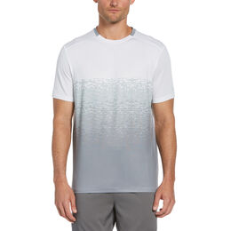 Fade Out Ombre Men's Short Sleeve Tee Shirt