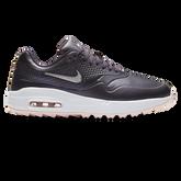 Air Max 1 G Women's Golf Shoe - Grey/Pink