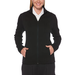 Fleece Full-Zip Golf Jacket