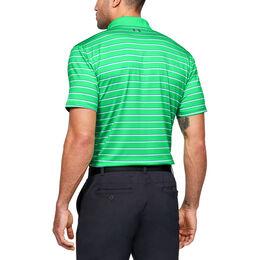 Performance Textured Stripe Men's Golf Polo Shirt