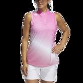 Alternate View 2 of Primegreen Gradient Sleeveless Polo Shirt