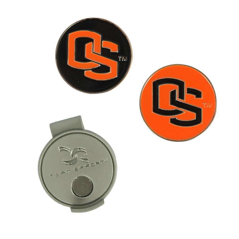 Team Effort Oregon State Beavers Hat Clip