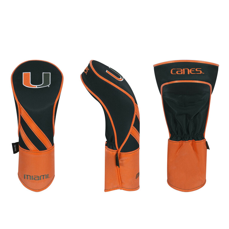 Team Effort Miami Hurricanes Fairway Headcover
