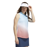 Alternate View 1 of Gradient Sleeveless Golf Polo