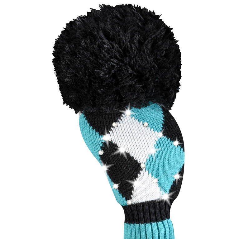 Just 4 Golf Sparkle Diamond Turquoise Driver Headcover