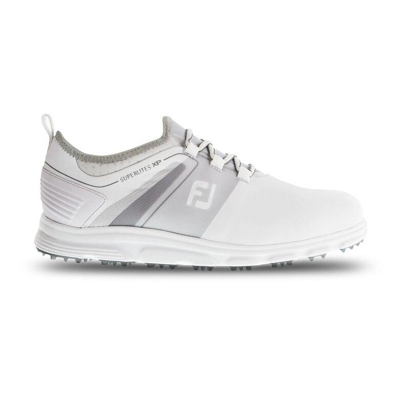 SuperLites XP Men's Golf Shoe - White/Grey