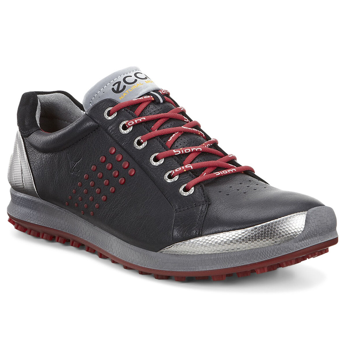 e27121b57f29 ECCO BIOM Hybrid 2 Men s Golf Shoe - Black Red