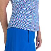 Alternate View 6 of Rojito Collection: Sleeveless Geo Print Top