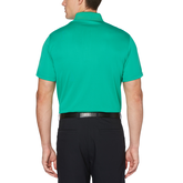 Alternate View 1 of Airflux Solid Mesh Short Sleeve Golf Polo Shirt