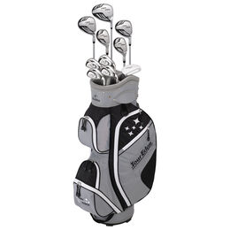 Lady Edge Women's Full Complete Set - Black/White