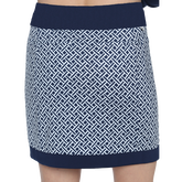Alternate View 1 of Monterey Collection: Printed Contrast Panel Skort