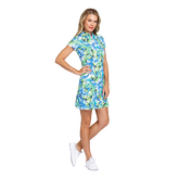 Alternate View 1 of Fun in the Sun Collection: Neale Tangled Tropics Short Sleeve Dress