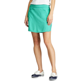 Alternate View 1 of Perforated Stretch Solid Golf Skort