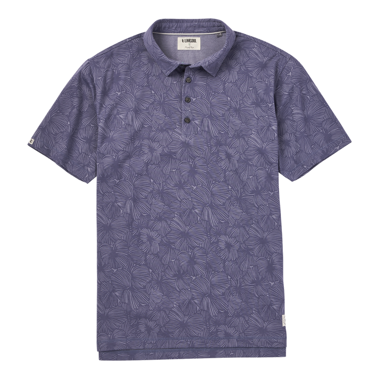 Dry-Tek All Over Floral Print Polo