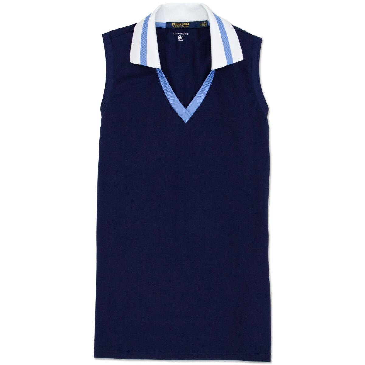 a02c3055 Polo Ralph Lauren Girls PERFORMANCE PIQUE SLEEVELESS SHIRT | PGA ...