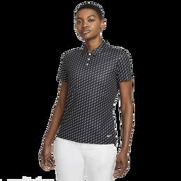 Dri-FIT Victory Women's Dash Print Short Sleeve Golf Polo