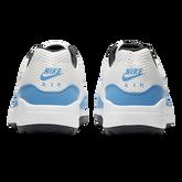 Alternate View 5 of Air Max 1 G Men's Golf Shoe - White/Carolina Blue