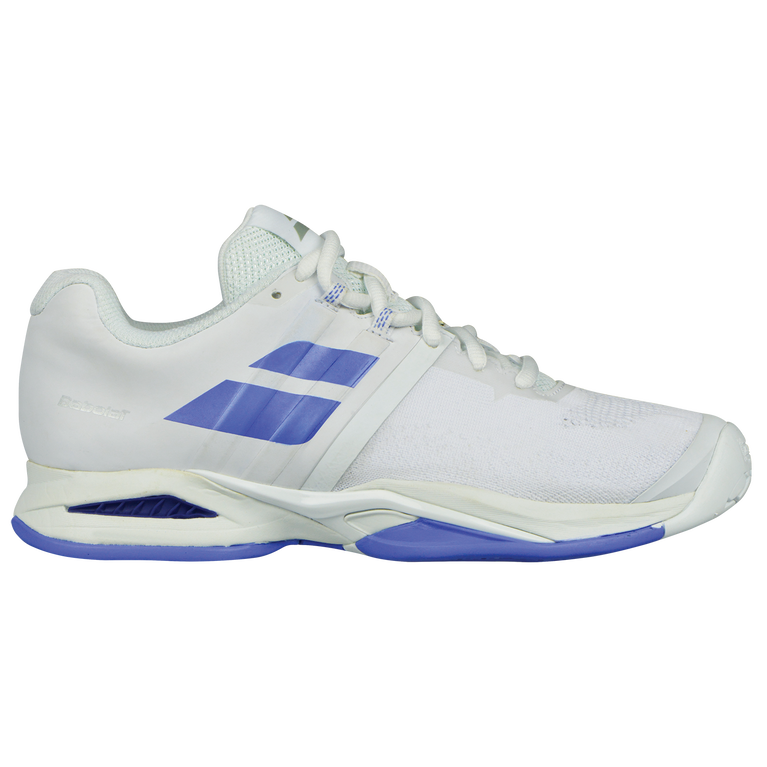 Babolat Propulse Blast All Court Women's Tennis Shoe - White/Purple