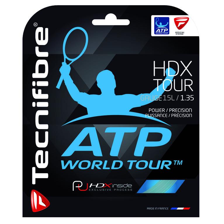 Tecnifibre HDX Tour 15L Gauge String Set - Natural