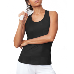 Women's Ribbed Tennis Tank Top