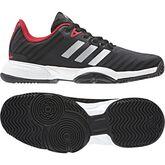adidas Barricade xJ Junior's Tennis Shoe - Black/White
