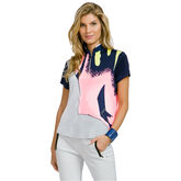 Cupid Group: Short Sleeve Thunderbird Quarter Zip Polo