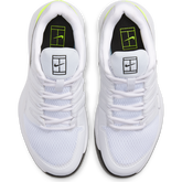 Alternate View 7 of NikeCourt Jr. Vapor X Kids' Tennis Shoe - White/Yellow