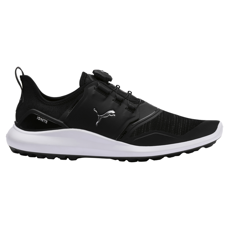 IGNITE NXT DISC Men's Golf Shoe - Black/Silver