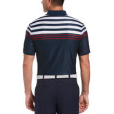 Alternate View 1 of EcoFocused Chest Stripe Short Sleeve Golf Polo Shirt