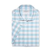 Alternate View 4 of Leeward Medium Check Short Sleeve Dress Shirt