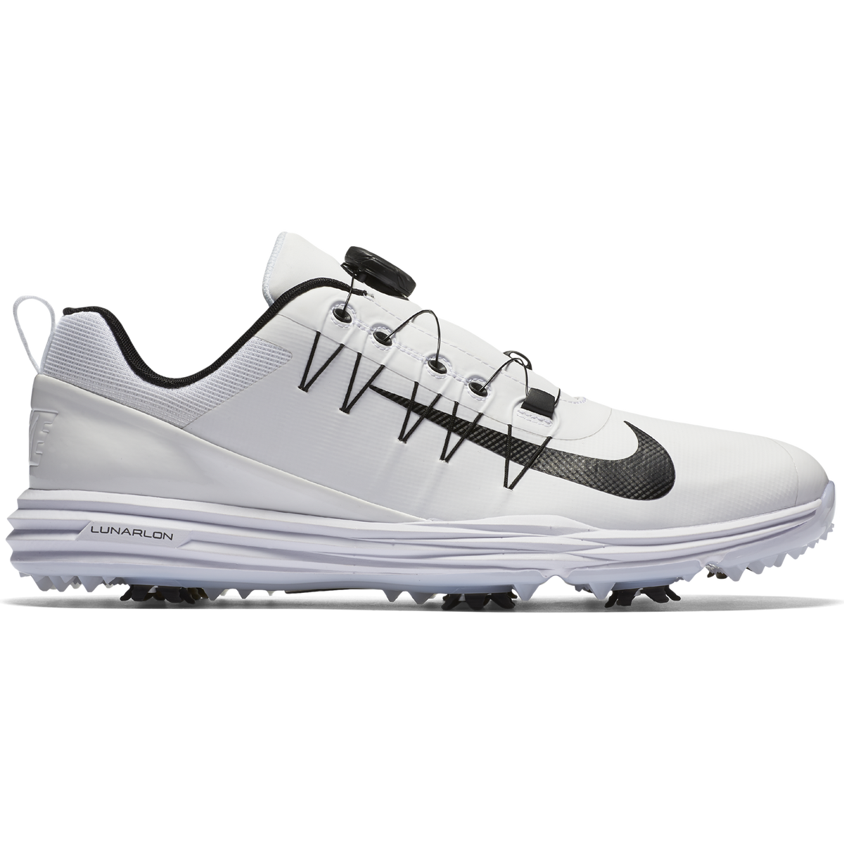 75b175ac7b Nike Lunar Command 2 Men's Golf Shoe - White/Black | PGA TOUR Superstore