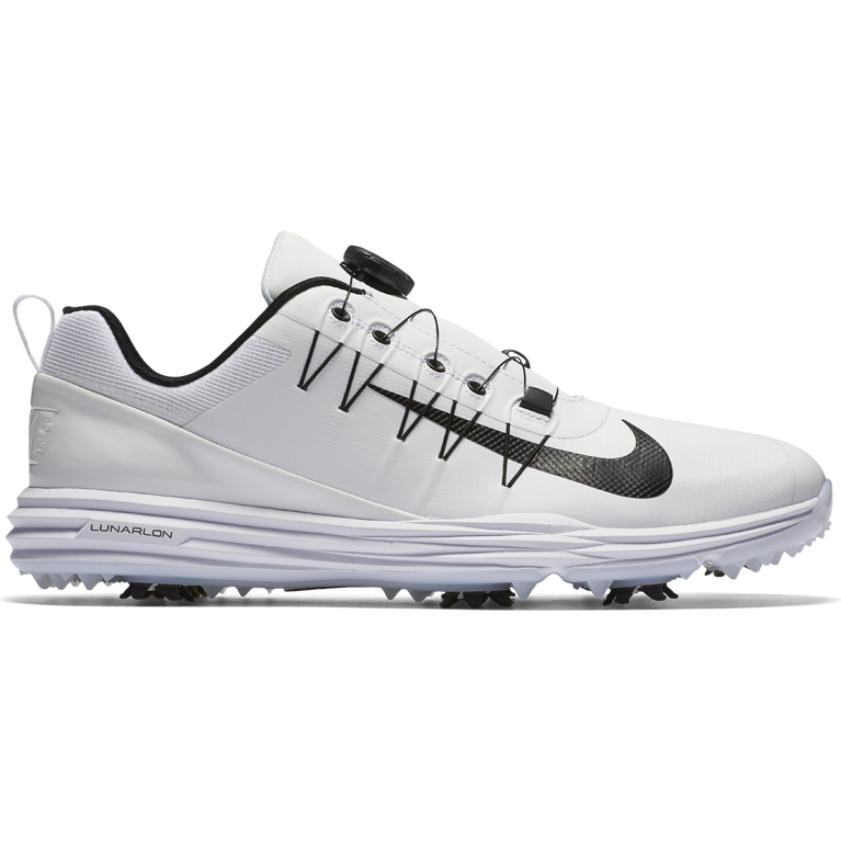 5c9fd43b46 Nike Lunar Command 2 Men's Golf Shoe - White/Black | PGA TOUR Superstore