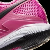 Alternate View 5 of NikeCourt Air Zoom Vapor X Women's Hard Court Tennis Shoe - Pink/Black
