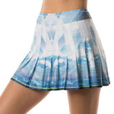 Long Latitude Pleated Skirt