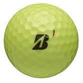 Bridgestone Tour B RX Golf Balls - Yellow